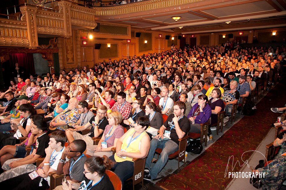 Crowd Shot of SXSW 2012 World Premiere of 21 Jump Street