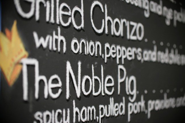 The Noble Pig - coincidentally the signature sandwhich