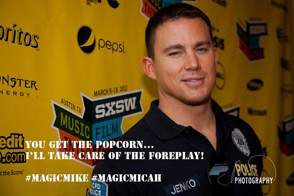 Magic Mike - Channing Tatum - SXSW 2012  (3/5)