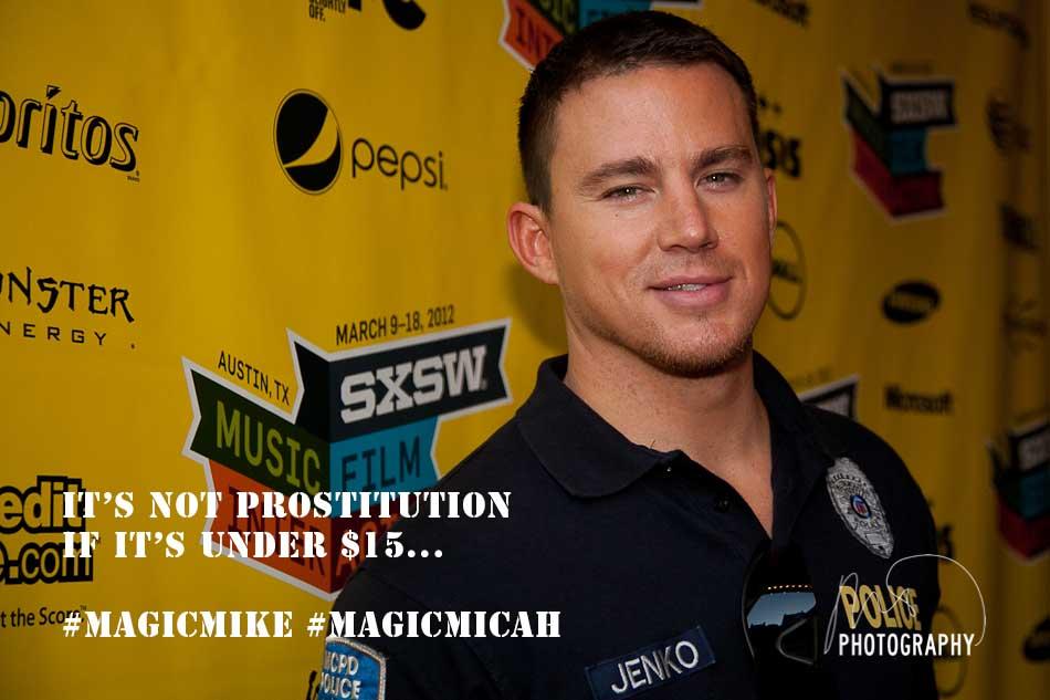 Magic Mike - Channing Tatum - SXSW 2012  (1/5)