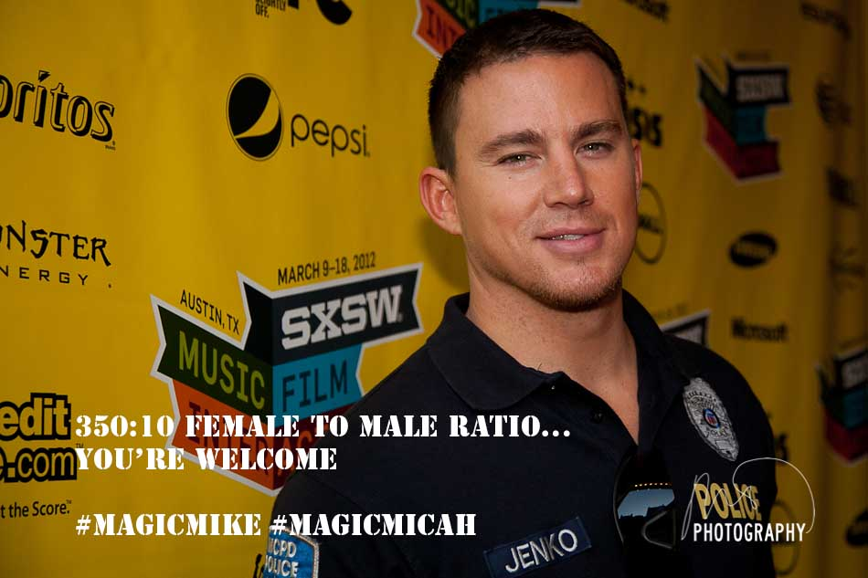 Magic Mike - Channing Tatum - SXSW 2012  (4/5)