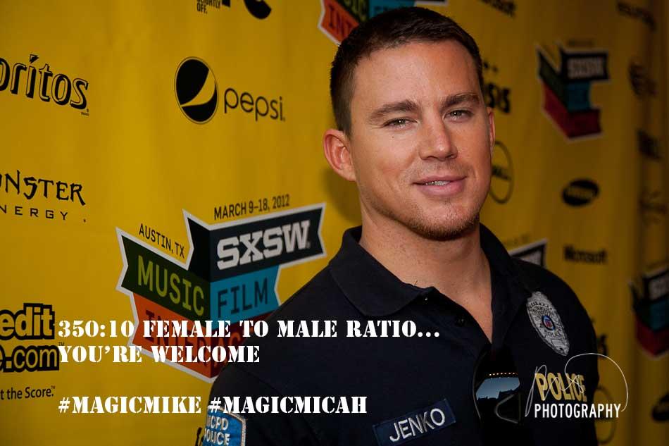 Channing Tatum Magic Mike Meme #4 Ratio