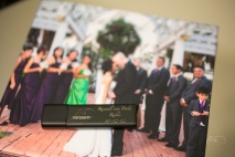 Perla and Randall Robles Wedding Thumb Drive Cover