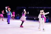 Mickey, Minnie, Goofy, the whole gang was there!