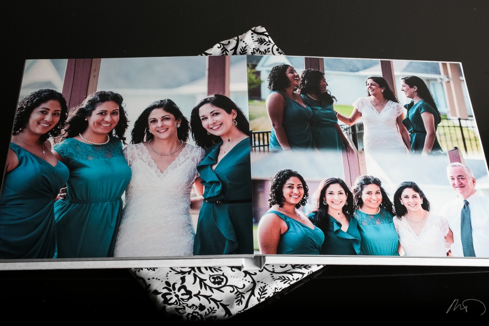Wedding Product Photography - Custom CD Cover and Wedding Album with Keepsake Box and Boutique Bag (6/6)