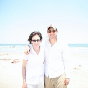 Mom and I in Port Aransas, Texas a few years back 2012/2013.